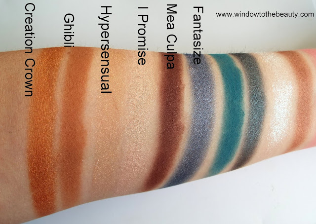 secret palette swatches