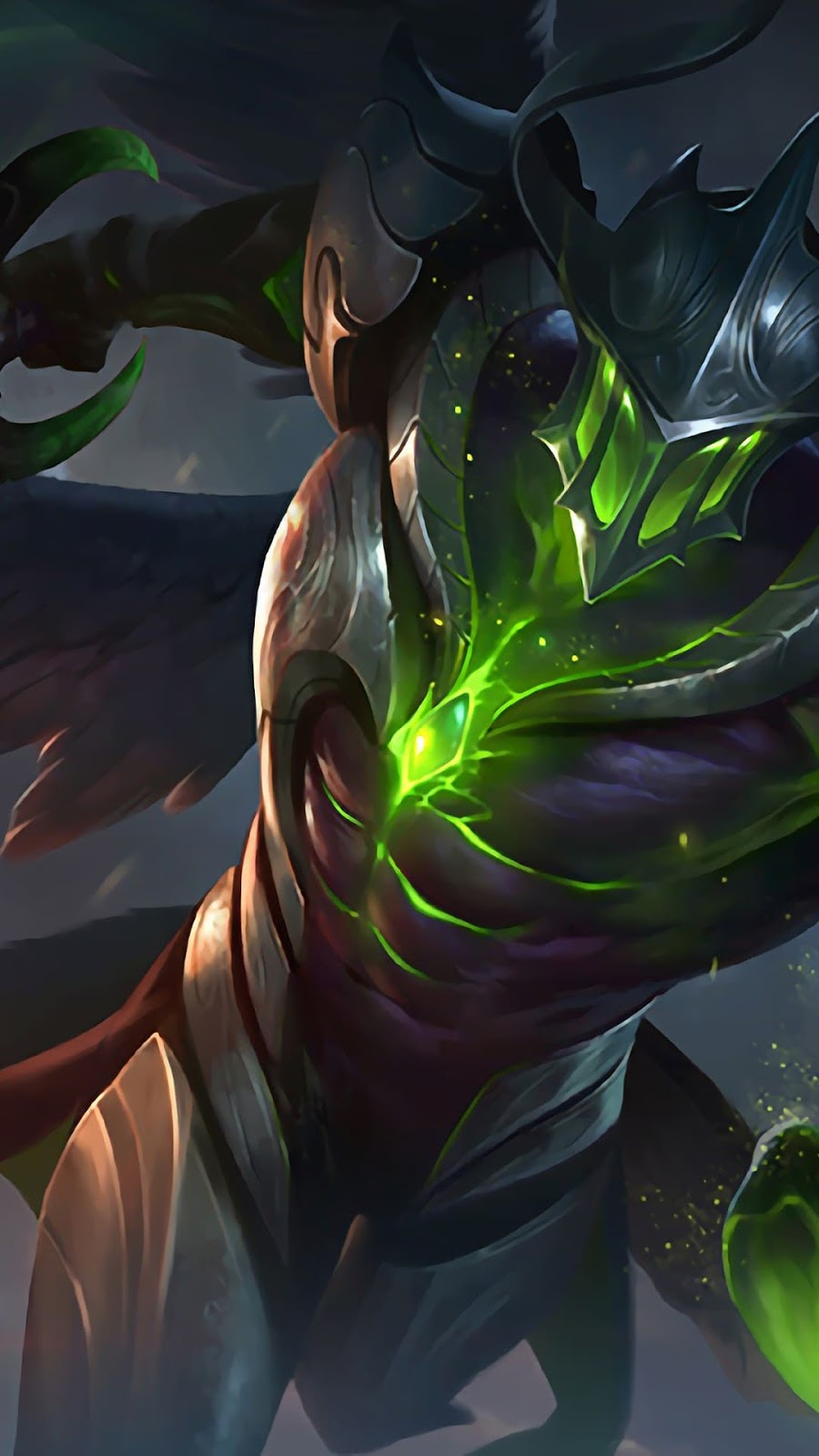 Wallpaper Argus Nightstalker Skin Mobile Legends HD for Android and iOS