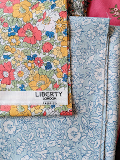 Liberty fabric The Cottage Garden