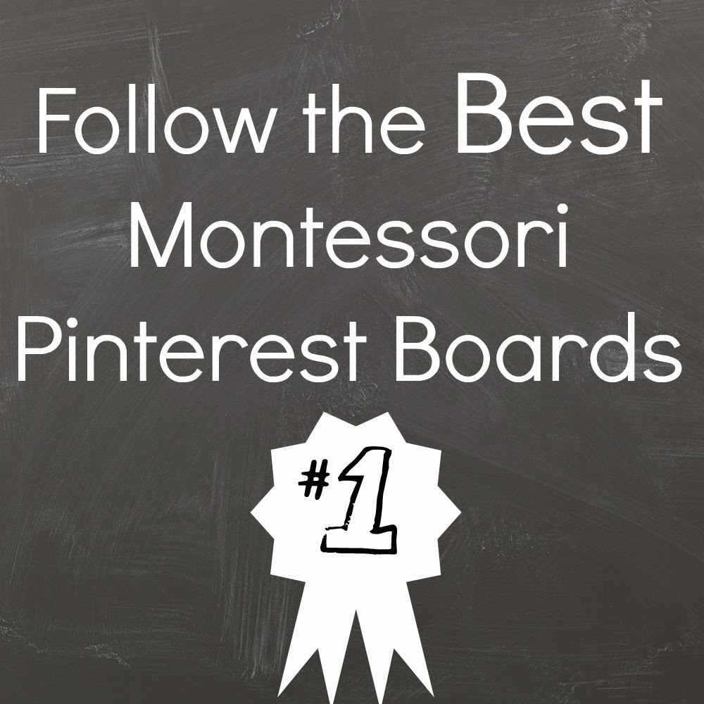 The BEST Montessori Pinterest Boards to Follow {Montessori on a Budget} #Montessori