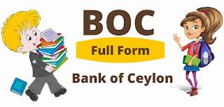 BOC Full Form