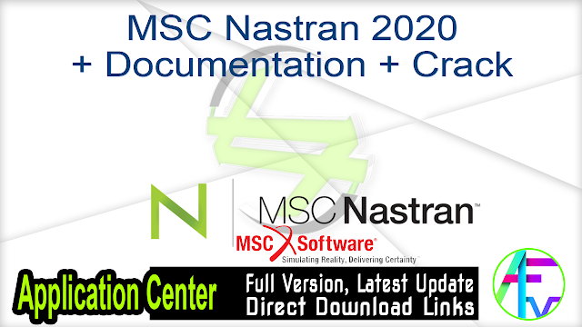 MSC Nastran 2020 + Documentation + Crack