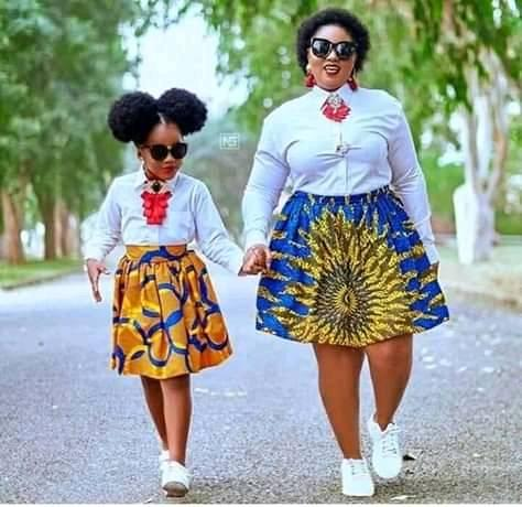 Amazing collection of African mother and daughter fashion styles