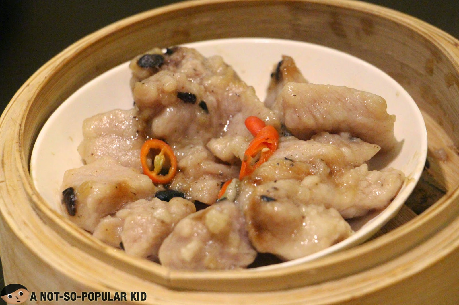 The Pork Rib with Black Bean Sauce of Tim Ho Wan