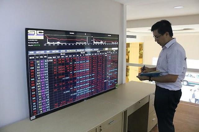 Thị trường chứng khoán mất 7 tỉ USD sau 5 ngày giảm điểm