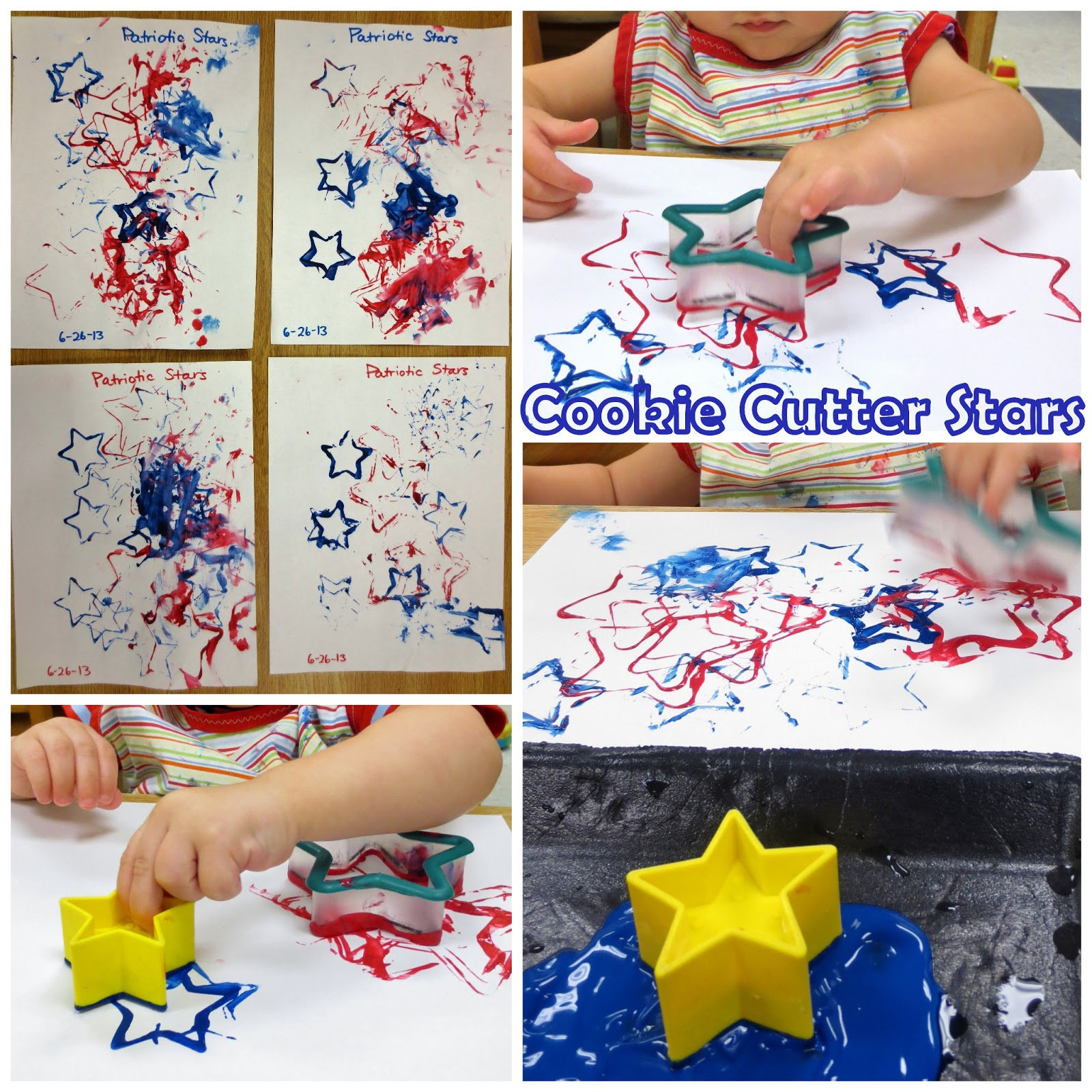 Princesses Pies Amp Preschool Pizzazz Stars Amp Stripes Patriotic Crafts For Toddlers