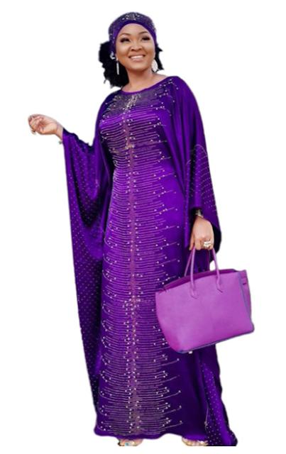Long Kaftan dress for women Ankara styles