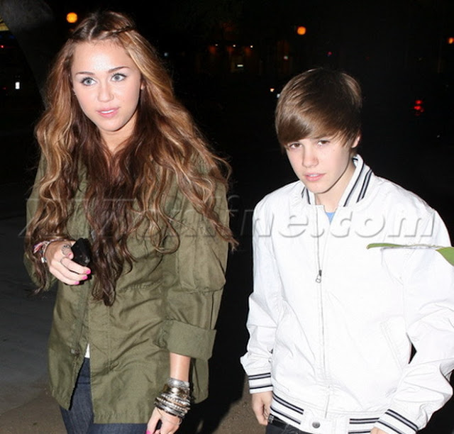 Miley cyrus dating justin bieber