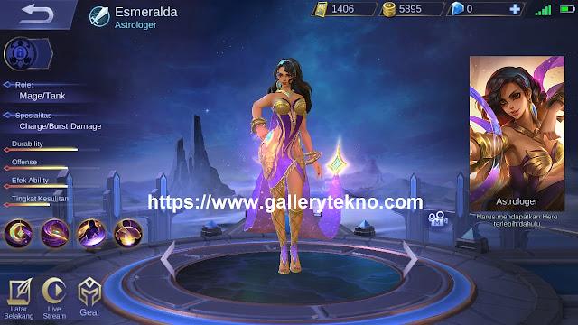 kapan tanggal rilis hero esmeralda di server ori mobile legends