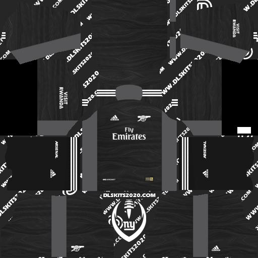 Fc Arsenal Kits 2021-2022 Adidas for Dream League Soccer 2019 (Away Goalkeeper)