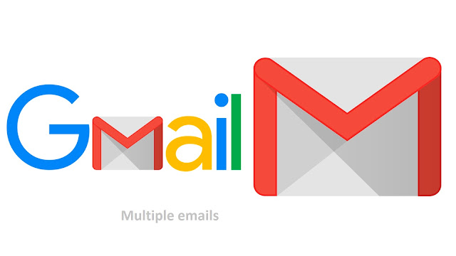 Multiple emails can be sent to Gmail as attachments