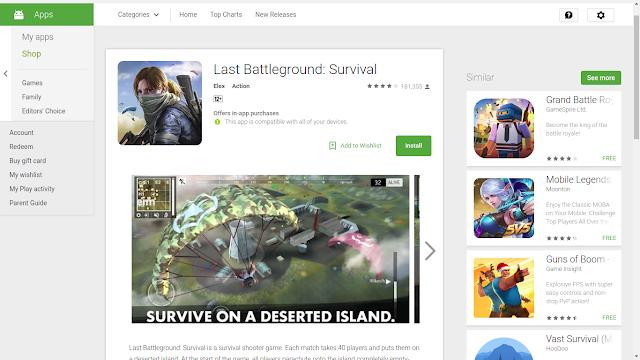 Last Battleground : Survival