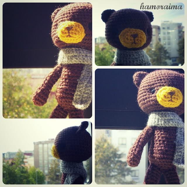 Petites Magazine Amigurumi : Patron oso amigurumi - hamoraima