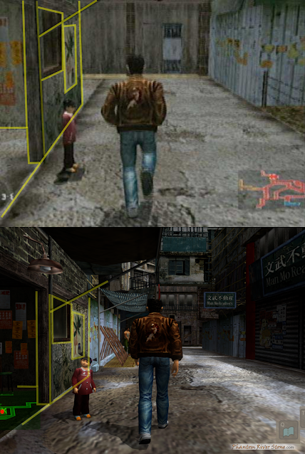 Shop comparison from a similar angle