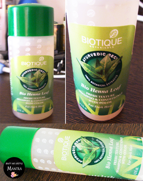 Review Biotique Bio Henna Leaf Shampoo And Conditioner Beauty