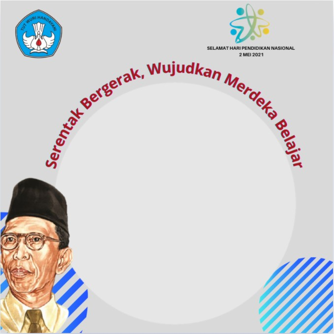 Link Twibbon Selamat Hari Pendidikan Nasional 2021 dengan tokoh Ki Hajar Dewantara