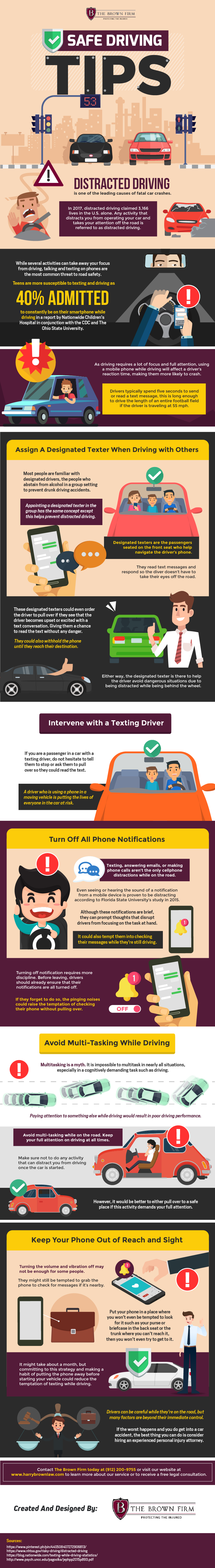 Safe Driving Tips #infographic