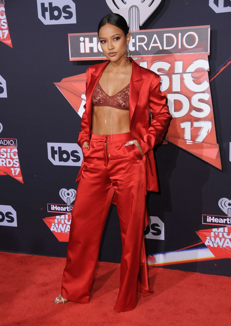 Karrueche Tran – 2017 iHeartRadio Music Awards in Los Angeles