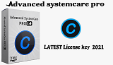 Latest 2021 IOBIT Advanced systemcare 14 pro license key