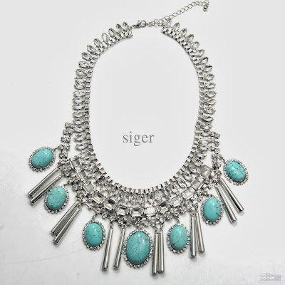 Fashion Jewelry: Wholesale Turquoise Necklace