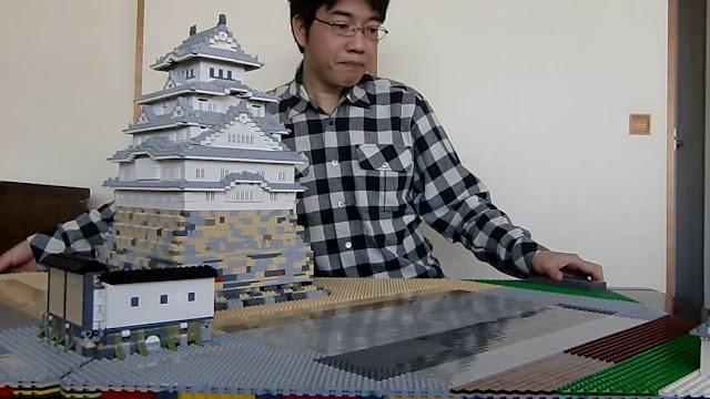 himeji chateau lego