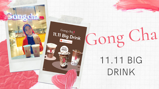 Choc out Gong Cha's 11.11 Big Drinks