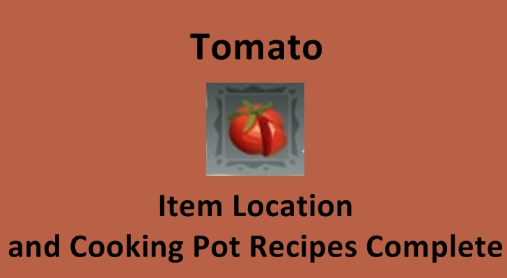 item location and cooking pot recipes tomato