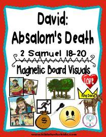 http://www.biblefunforkids.com/2015/12/cathys-corner-david-absaloms-death.html