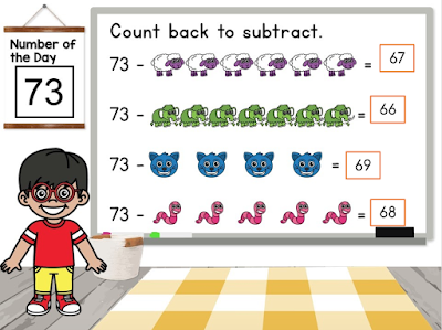 using basic addition and subtraction to learn more about numbers