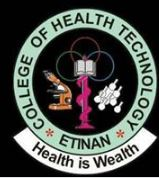 College of Health Tech Etinan Admission Form 2021/2022