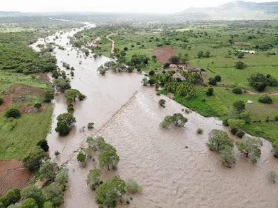 Semarh emite novo alerta sobre a elevação do Rio Ipanema, no Sertão de Alagoas
