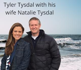 Tyler Tysdal with Natalie Tysdal