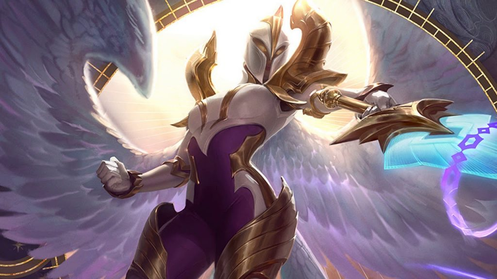 Kayle is the central building block of the combo.