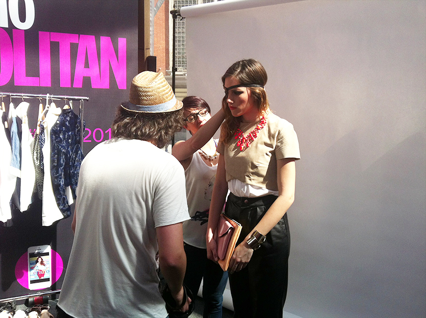 Cosmopolitan shopping week Madrid, SNB BLOG, Nery Hdez,Carpa Callado ,Taller shooting de moda, IED