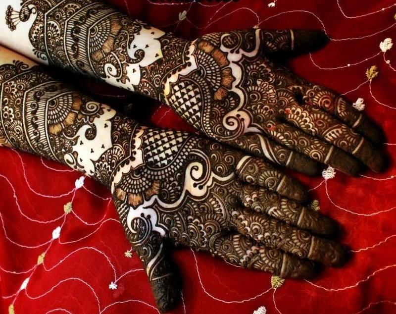 Bridal Mehndi New Latest Design : Best latest bridal mehndi designs for hands full