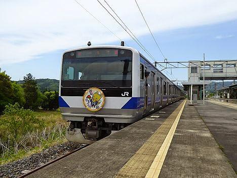 臨時快速 笠間ひまつり号 E531系