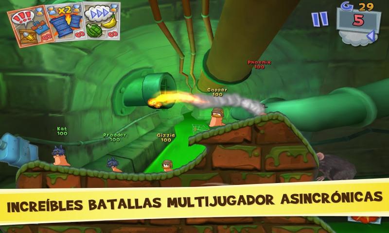 Descargar Worms 3 Premium v2.00 .apk [Español] - Apkingdom