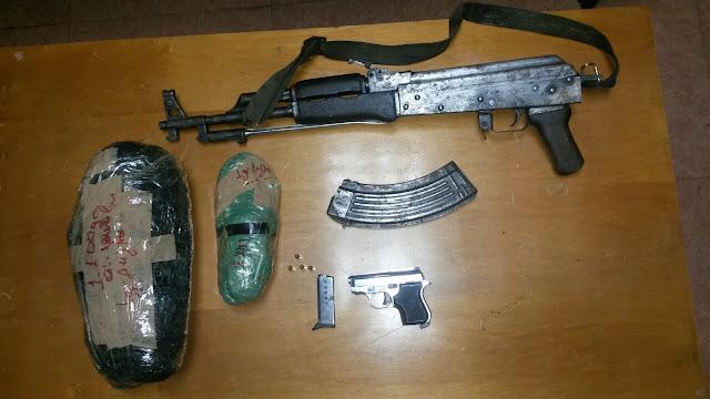 Εντοπίστηκε οπλισμός και ποσότητα κάνναβης σε καβάντζα