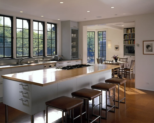 Open Kitchen With Lots Of Light