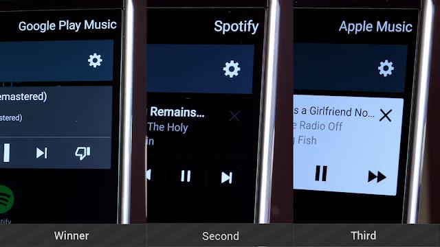 Apple Music vs Spotify vs Amazon Prime vs Google Play Music