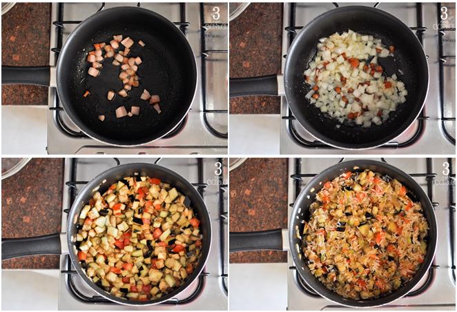 receita arroz berinjela e tomate