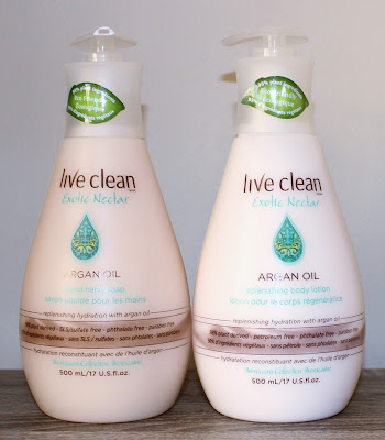 Live Clean Exotic Nectar Argan Oil Liquid Hand Soap