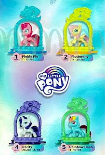 My Little Pony 2021 McDonald's Happy Meal Toys