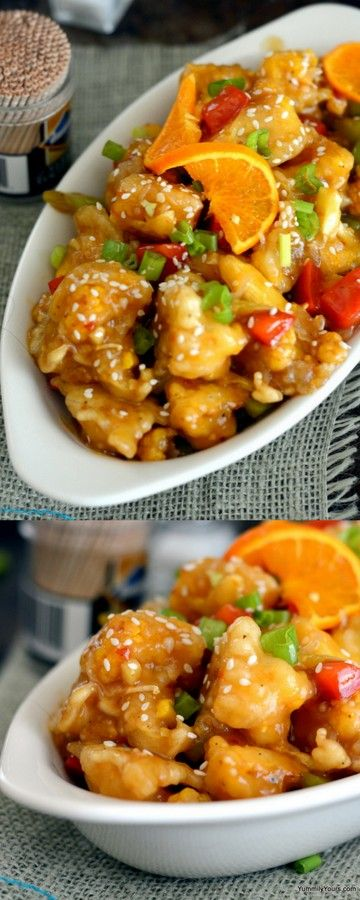 ORANGE CAULIFLOWER–A VEGETARIAN'S ORANGE CHICKEN