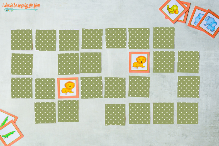 Printable Picture Memory Games