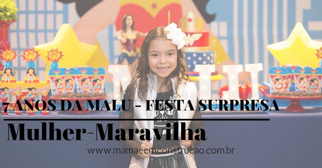 7 anos da Maria Luísa