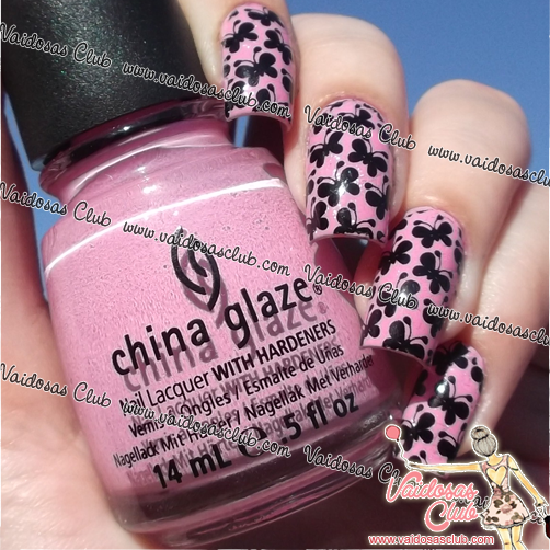 Dance Baby China Glaze + Patty Películas de Unhas