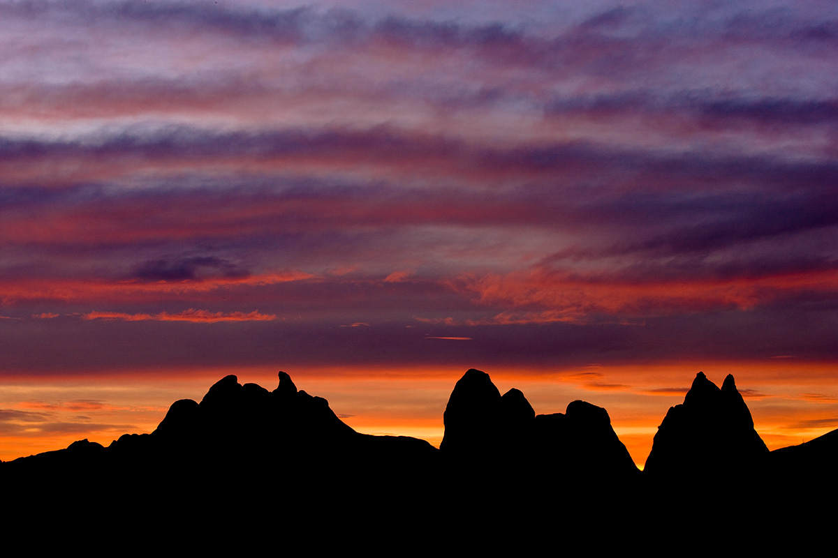 Mountain Pictures: Mountains Silhouette