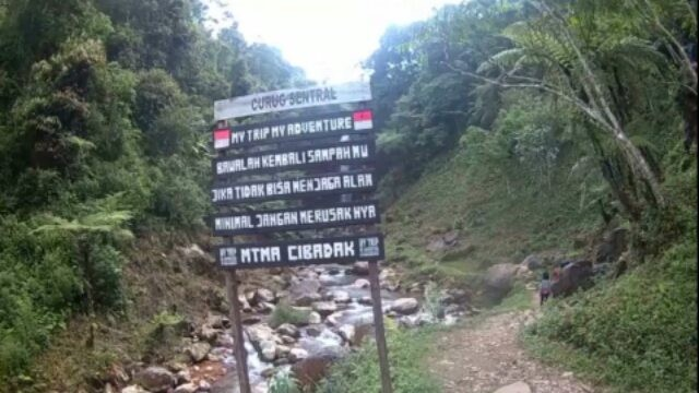 Curug Sentral Kebandungan | wonderful Indonesia