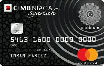 CIMB Niaga Mastercard Platinum Syariah